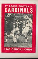 1965 St. Louis Cardinals Press Media Guide em