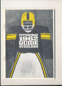 1962 Pittsburgh Steelers Press Media Guide em