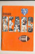 1966 Chicago Bears Press Media Guide em