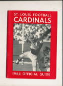 1964 St. Louis Cardinals Press Media Guide em