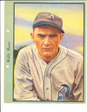 1938 Dixie Lid Premium card Wally Moses A's