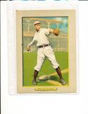 t3 Turkey Red #10 1911 card - art Devlin New York Giants vg