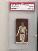 1912 t207 brown card psa 4 John Ferry Pirates
