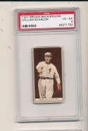 1912 t207 brown card psa 4 William Scanlon Phillies