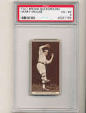 1912 t207 brown card psa 4 Harry Krause Athletics
