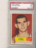 1957 topps Charlie Tyra Knicks  #68 psa 5.5