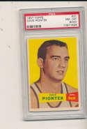 1957 topps Dave Piontek #31 Royals psa 8 (oc)