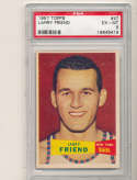 1957 topps  Larry Friend #47 psa 6 Knicks