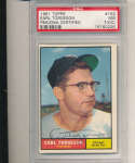 1961 topps Signed #152 Earl Torgeson White Sox psa/dna authentic