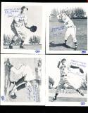 1957 Milwaukee Braves 13/20 spic span baseball cards em/nm
