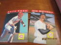 1985 TOPPS BASEBALL 3-D COMPLETE SET OF 30 PLASTIC CARDS Pete Rose