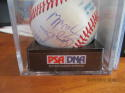 1986 Oakland Athletics A's Signed Team ball 24 signatures psa/dna 8.5