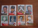 SIGNED AUTOGRAPHED 1991 1953 TOPPS ARCHIVES 198 different cards near set