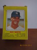 1969 Roy White Yankees Transogram card full box ex