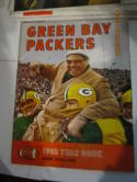 1962 Green Bay Packers revised (red) Football Yearbook ex -em (surface rub)