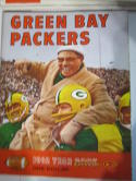 1962 Green Bay Packers revised (red) Football Yearbook nm