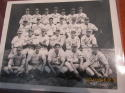 1943 Original Hollywood Stars Team Issue 8x10 Photo facsimile signatures