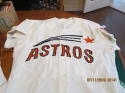 Cesar Geronimo 1971 Houston Astros #20  Flying Star jersey RARE STYLE!