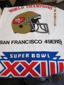 1988 World Champions San Francisco 49ers Beach Towel XXIII