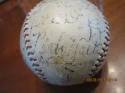 1933 All Star Game Multi Signed Baseball with 21 signatures Babe Ruth Lou Gehrig 11 HOF's PSA/DNA
