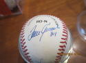 300 win 8 Pitchers signed baseball  Ryan, Wynn, spahn, Seaver  psa/dna letter