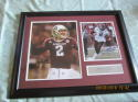 Johnny Manzel Signed Texas A&M photo framed JSA