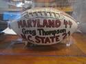 1984 Maryland Game Football Greg Thompson Maryland 44 NC State 21