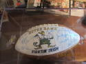 1983 Notre Dame Team Signed Football 60+ nice clean ball