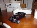 plymouth Prowler Purple Danbury Mint new in box 1:24 scale;