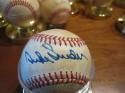 Duke Snider Dodgers Signed Baseball Charles Feeney NL Rawlings toned