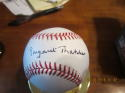 Margaret Thatcher Signed Autographed Baseball PSA clean ball