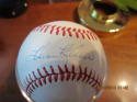 harmon Killebrew twins Signed Baseball Bobby brown Rawlings white ball