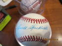 Ewell Blackwell Reds Signed Baseball Bartlett Giamatti‎ NL official Rawlings ball