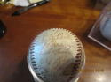 1954 Cleveland Indians Team Signed OAL Baseball 32 signatures