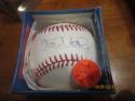 Frank Viola Twins Signed Baseball  OAL baseball