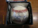 Maury Wills Dodgers Signed Baseball  OAL baseball