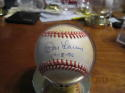 Don Larson New York Yankees Signed Baseball OAL baseball