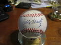 bobby Shantz Athletics Signed Baseball OAL baseball