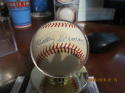 Billy Herman Cubs Signed Baseball OAL jsa baseball