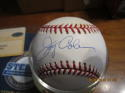 Jerry Coleman Yankees Steiner Signed Baseball
