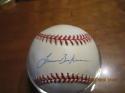 Lance Berkman Rangers Signed Baseball OAL baseball bx2