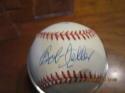 Bucky Jacobs & Bob Feller Signed Baseball OAL baseball bx2
