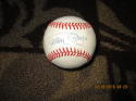 Tommy Byrne Yankees d007 Signed Baseball OAL Bobby Brown  bx2