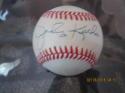 Johnny Kucks Yankees Signed Baseball OAL bobby brown  bx2