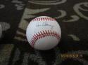 Jim Clancy Blue Jays  Signed Baseball OAL Bill White  bx2