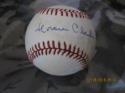 Horace Clarke Yankees Signed Baseball OAL Bobby brown  bx2