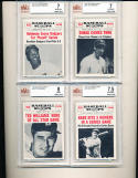 1961 Baseball Scoops Baseball Complete Set near mint
