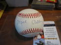 Mel Allen Signed Autographed OAL Baseball JSA certified