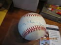 albert happy chandler Signed Autographed OAL Baseball JSA certified