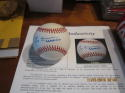 Leo Durocher cubs Signed Autographed OAL Baseball JSA certified